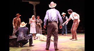 Oklahoma dir: Marcia Milgrom Dogde Also had runs at the Studio Theatre in Wash, D.C. and the Laura Pels theatre in New York,